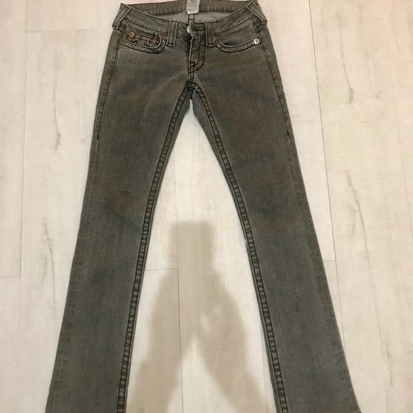 True Religion Denim - True Religion Johnny Big T Jeans, Like New!😍